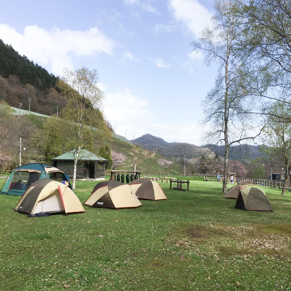 豊浦町森林公園でキャンプ - so-to.club
